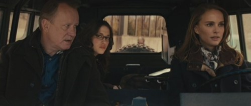 Meet the B-Team: Stellan Skarsgård as Prof. Erik Selvig; Kat Dennings as Darcy, the taze-happy intern; and Natalie Portman as a scientist who looks and acts exactly like Natalie Portman